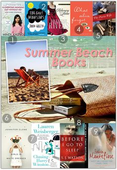 Summer beach books?!