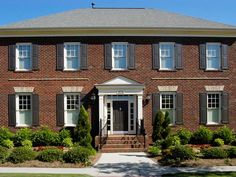 Browse pictures of homes that have incorporated the classic look of brick into their exterior design on HGTV.com.