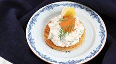 Myllymäkis toast skagen | Recept från Köket.se Skagen, Dacquoise, Starters, Entrees, Tapas, Appetizers, Low Carb, Eggs, Cooking
