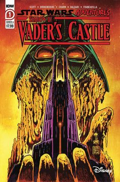 $7.99 Star Wars Adventures Shadow Of Vaders Castle #1 Cvr A Francavilla (IDW 2020) NM Sold By: Imagine That! Comics The Empire has fallen, and the Mustafarians celebrate. But they know they will never be safe as long as they live in the shadow of Vader's Castle. Two young boys decide they're going to destroy the castle themselves. But a wizened old Mustafarian tries to put them off by telling them tales to teach them the lessons they might otherwise have to learn the hard way. Star War 3, Love Stars, Comic Book Covers, Young Boys, Clone Wars, Empire, Sci Fi, Castle, Darth Vader