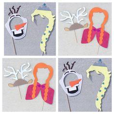 Bevroren geïnspireerd Photo Booth Props door LetsGetDecorative