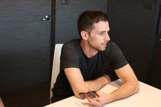 """""""Guy Berryman interviewing with before - April Coldplay, Addiction, Interview, Guys, Sons, Boys"""