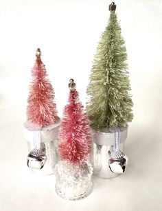 Make Bottle Brush Trees Look Vintage DIY video here:  https://www.youtube.com/watch?v=jH6YcElcplA
