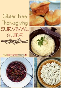 Gluten Free Thanksgiving Survival Guide - everything you need to make it through the holidays and stay gluten free! - FaveGlutenFreeRecipes.com