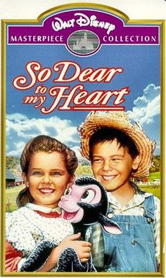 A less known Disney movie, 1949 So Dear to My Heart. Its so sweet.