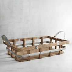 What does our wood and metal tray bring to the table? Its rugged good looks and whatever you want—linens, glassware, all sorts of essentials and extras.