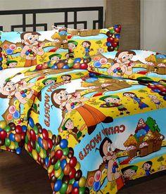 Cartoon Prints Chota Bheem Candy World Reversible Ac Blanket-220 TC, http://www.snapdeal.com/product/cartoon-prints-chota-bheem-candy/1536648791