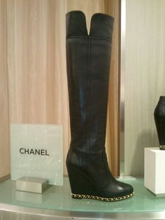 Oh Chanel!! # boots #chanel #classic