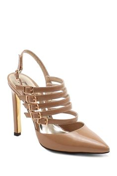 Telling You Slingback Strap Detail Pump by Luichiny on @nordstrom_rack