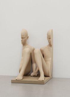 "Anders Krisár ""Flesh mirror"" exhibition at Christian Larsen Gallery Michelangelo, Modern Art, Contemporary Art, Contemporary Sculpture, Art Et Architecture, Art Sculpture, Expositions, Installation Art, Art Installations"