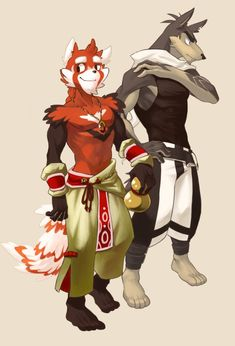 Mao and Yoru by chirenbo