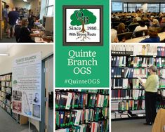 Quinte Branch OGS Genealogy Research Library in Quinte West, Ontario #QuinteOGS #genealogy #familyhistory #genealogyresearch