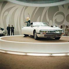 Citroen SM displayed at Geneva Auto Show