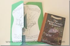 The Swiss Family Robinson Unit Study & Lapbook - Confessions of a Homeschooler