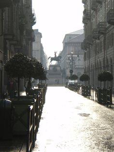 Torino, Italy, piazza Carlo Alberto