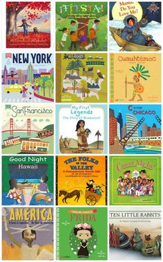 Board Books about North and South America. Perfect multicultural books for families and preschools who want to introduce cultural awareness. Introduce your baby or toddler to world cultures :) Preschool Books, Preschool Curriculum, Toddler Preschool, Kindergarten, Homeschooling, America Memes, Little Free Libraries, Kids Around The World, Global Citizen