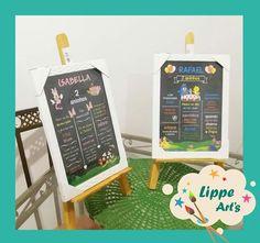 20x30cm Chalkboards para aniversários nos temas Minnie Rosa e Galinha Pintadinha