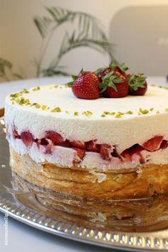 Doppelter Erdbeer-Käsekuchen - oder: Die Lamertz-Torte
