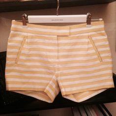 Jcrew Shorts Bundle Jcrew collection beautiful fabric stripped shorts  size 0 and Indigo Denim shorts. Size 24. In perfect condition. J. Crew Shorts