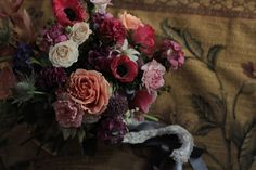 Love this flower set from Jardine Botanic Floral Styling! I love the darker flowers! Suits my theme.