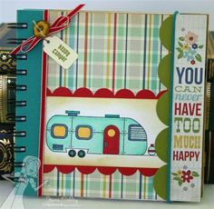 RV Travel Journal by Jami Sibley #GiftGiving