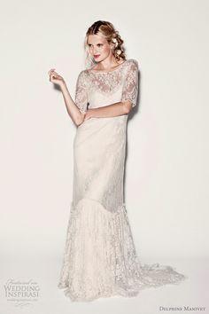 delphine manivet lace wedding dresses 2012 collection