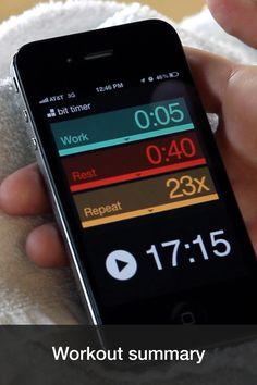 Bit Timer App  ... Simplistic interface wins