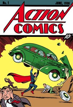 Superman first appeared on Action Comics #1 (May 3, 1938)