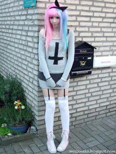 pastel † goth