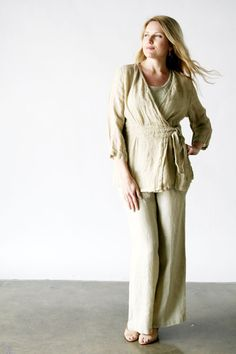 Product Image: Secure Blouse Woven in FLAX Clothing NEW : Flax Socials 2012 $85.75