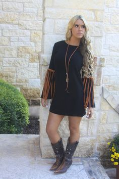 Cheyenne Fringe dress