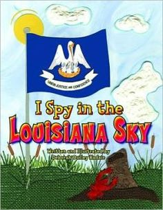 written and illustrated by Deborah Ousley Kadair: playful rhymes teach young readers about the pelican state. Louisiana History, New Orleans Louisiana, Summer Fest, Book Club Books, Book Clubs, I Spy, Book Themes, Raising Kids, Mardi Gras