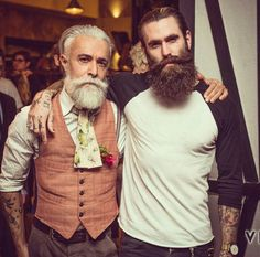 My two favorite men. Alessandro Manfredini and Ricki Hall.