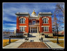 "Historic Cache County Courthouse in Logan, Utah ""In a New Light"" by James Neeley, via Flickr"