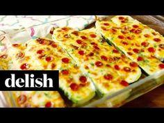 Best Pizza Zucchini Boats Recipe - How To Make Pizza Zucchini Boats
