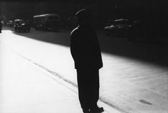 Sidewalk Saul Leiter, ca. 1954