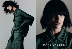 Anja Rubik for Marc Jacobs Spring/Summer 2015 Campaign