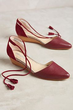 Farylrobin Finn Micro Wedges - anthropologie.com