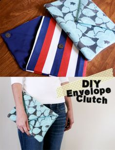5 Pretty DIY Clutches and Pouches