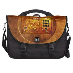 Five to 12 #Steampunk #Uhr #Grunge #Laptoptasche von #zazzle.de 180,00 € per #bag