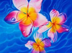 Ester Roi | Artwork | Flowers & Water