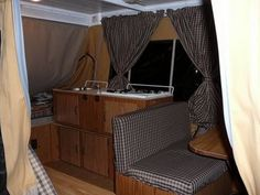 WOW! Amazing before and after popup camper redo!