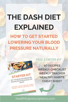 What is the DASH diet and how to implement it to to lower blood pressure and blood sugar naturally. high blood pressure diet, high blood pressure remedies, how to reverse high blood pressure, dash diet, dash diet recipes, foods to reduce blood pressure, foods to reduce blood sugar, recipes to lower blood pressure, recipes to lower blood sugar, low carb recipes, low carb foods, healthy habits, recipes for type 2 diabetes, low sodium food, low sodium recipes, heart healthy