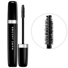 Marc Jacobs Beauty O!Mega Lash Volumizing Mascara in Blacquer 30 #sephora  The perfect non-clumping mascara. My lashes really do look fuller whenever I use this. It's hassle and smudge free.
