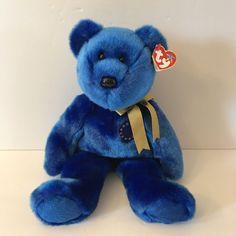 - MWMTs Stuffed Animal Toy SUNNY the e-Bear 14 inch TY Beanie Buddy