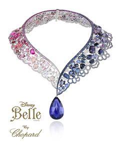 Belle by Chopard. / #hautejoaillerie #disneyprincess