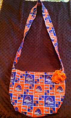 Save Sparky Handmade Purse Medium Large Boise State by SaveSparky, $25.00