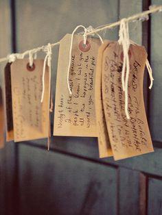 mensajes de los invitados para los novios