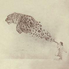 Bubbles the Snow Leopard