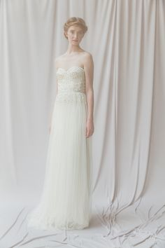light and airy Asteria Gown by Alexandra Grecco